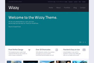 Wizzy WordPress Theme
