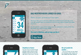Weathery for iPhone