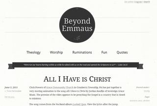 Beyond Emmaus