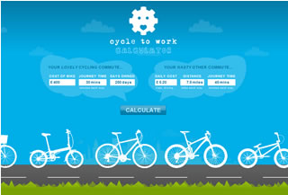 Cycle to Work Calculator