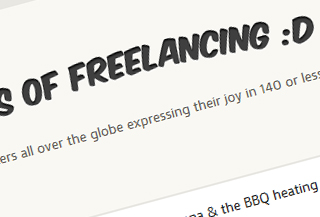 Joys Of Freelancing