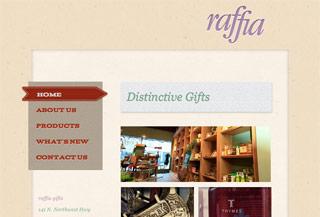 Raffia Gifts