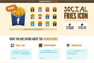 Social Fries icon