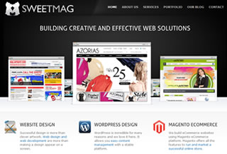 Sweetmag Web Design