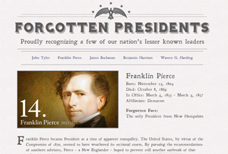 Forgotten Presidents