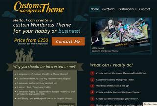 Wordpress Theme Designer
