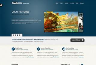 SandSpace Premium Theme