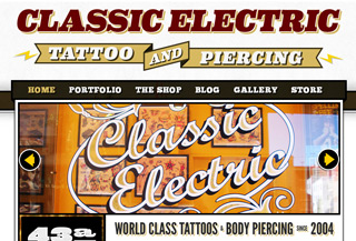 Classic Electric Tattoos
