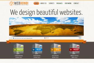 Web Bondi - Web design Sydney