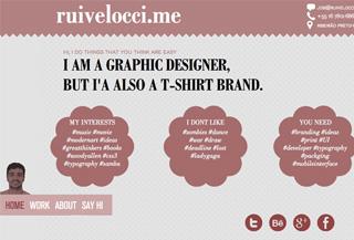 Rui Velocci creative designer
