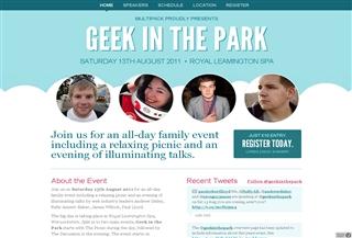 Geek in the park 2011