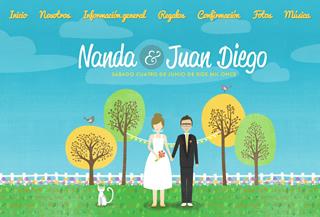 Nanda y Juandiego