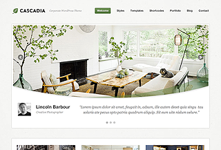 Cascadia WordPress Theme