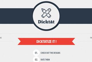 Dicktat clothing