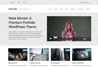 Monstr Folio PREMIUM THEME
