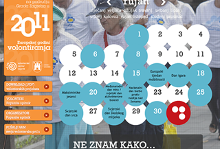 Volunteers Calendar