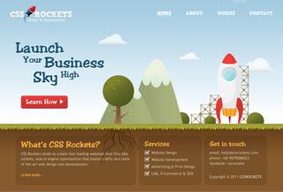 CSS Rockets