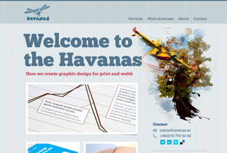 Havanas graphic design