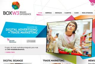 BOX W3 Brand Experience