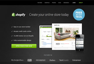 Shopify - Ecommerce Software