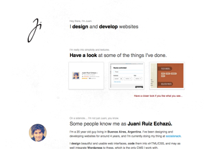 Juani Ruiz Echazu - portfolio
