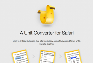 Unity Extension for Safari