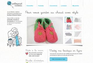Pantoufles et foulards