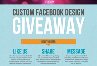 Facebook Design Giveawary