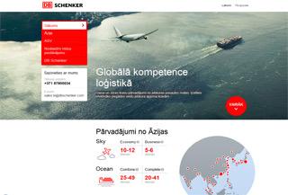 DB Schenker Promo Page