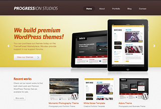 Progression Studios Redesign