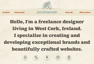 Paul Goode: Freelance Designer