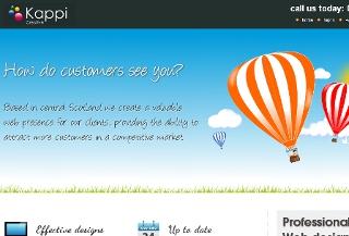 Kappi Creative web design