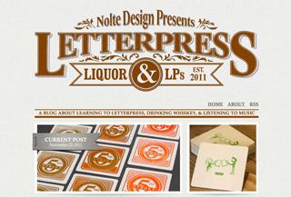 Letterpress, Liquor, & LPs