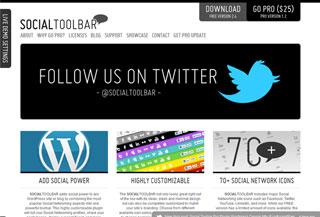 Social Toolbar Pro
