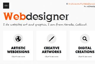 Krishnankutty webdesigner