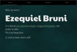 Ezequiel Bruni's Portfolio