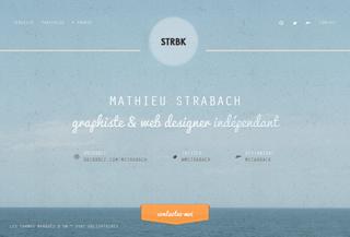 Mathieu Strabach - Webdesigner