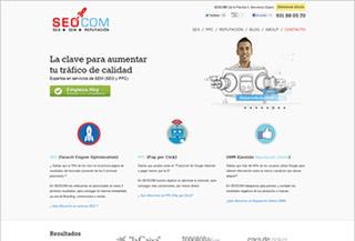 SEOCOM Servicios de SEO y PPC