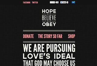 Hope. Believe. Obey.