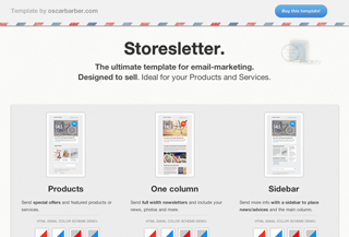 Storesletter - Email Template