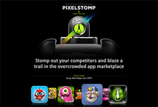 Pixelstomp iPhone App Design