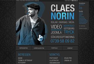 Claes Norin - Portfolio