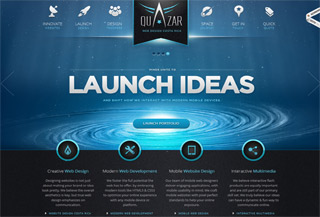 Quazar Mobile Web Design
