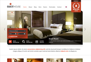 Guesthouse Premium WP Theme