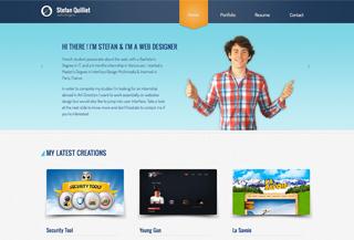 Stefan Quilliet - Web Designer