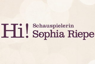 Hi! Sophia Riepe