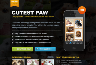 Cutest Paw iPhone App