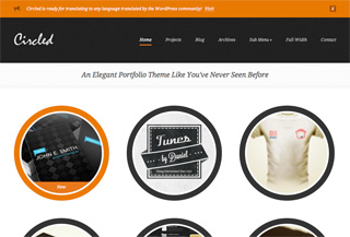 Circled WordPress Theme