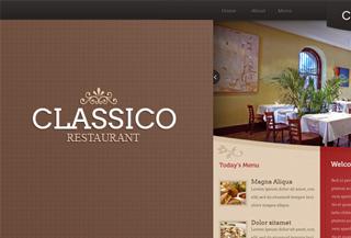 Classico Restaurant Template