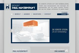 Bouw Paul Huyzentruyt